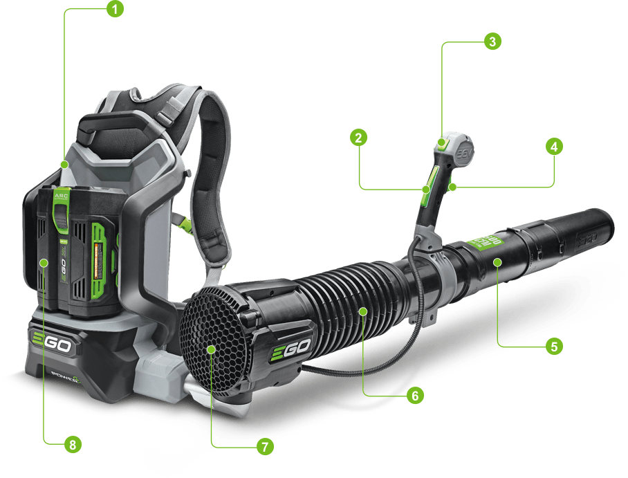 Backpack Blower Key Features Image